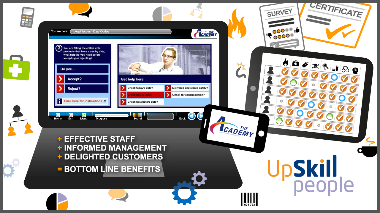 A new approach to induction for Henderson Retail, with Upskill People online learning