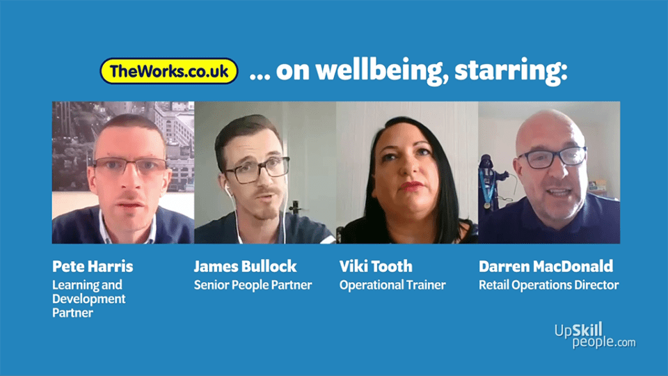 The Works on people, wellbeing and managers