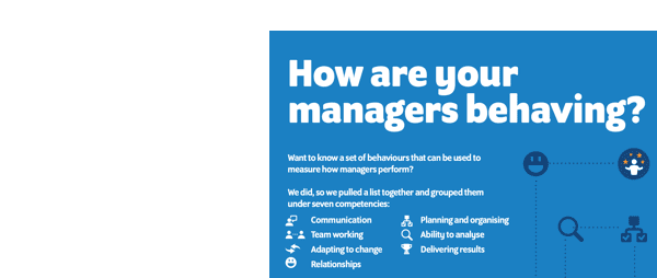 How are your managers behaving
