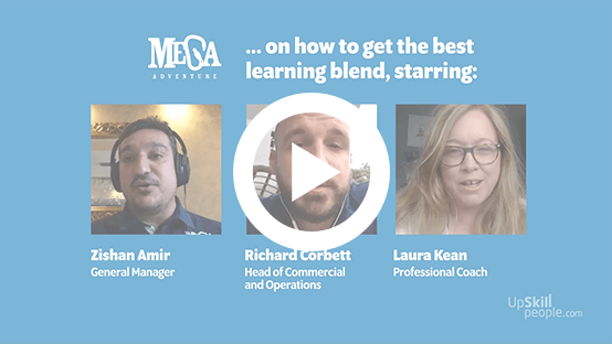 How to get the best learning blend