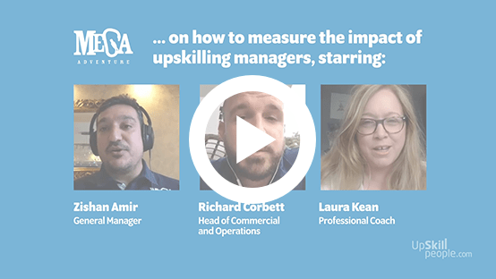 Measuring the impact of upskilling managers
