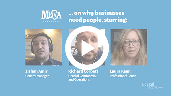 Why businesses need people