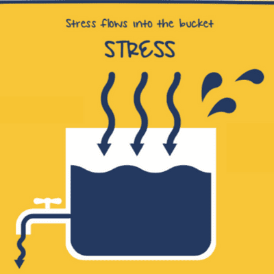 Stress Flows into the Bucket